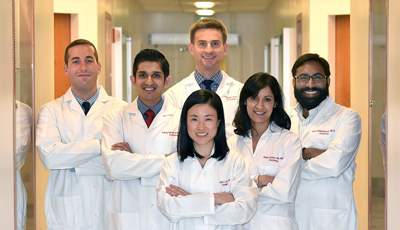 Some of the 2015 Cardiology Fellows